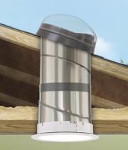 Rigid Tunnel - Low Profile Flashing Sun Tunnel